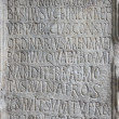 Royalty-Free Stock Photo: Ancient latin inscription