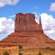 Butte in Monument Valley — Stock Photo #10349545