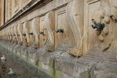 Medicean Fountains in Assisi — Stock Photo