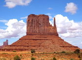 Butte im monument valley — Stockfoto