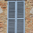 Italistyle shutters — Stock Photo #10429630