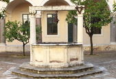 Medieval water well — Stock Photo