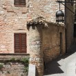 Medieval corner in Assisi — Stock Photo