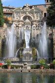 Neptune Fountain in Villa d'Este — Stok fotoğraf