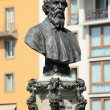 Bust of Benvenuto Cellini — Stock Photo