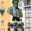 Bust of Benvenuto Cellini - Stock Photo