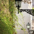Old street lamps - Stock Photo