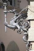 バロック式の街路灯 — ストック写真
