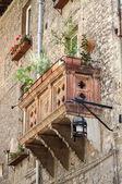 中世纪阳台 — 图库照片