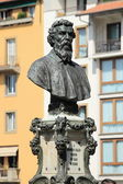 Bust of Benvenuto Cellini — Stock Photo