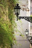 Old street lamps — Stock Photo