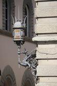 Baroque street lamp — Stock Photo
