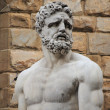 Stock Photo: Statue of Hercules and Caucus