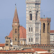 Bell towers in Florence — Stock Photo #10624573