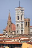 Bell towers in Florence — Stock Photo