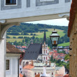 vue panoramique de cesky krumlov — Photo #8126516