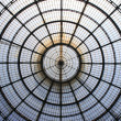 Milan gallery dome — Stock Photo