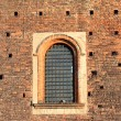 Medieval window of a castle — Stock Photo