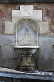 Antica fontana di Roma — Foto Stock