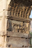 Basreliefs in the Arch of Titus — Stock Photo