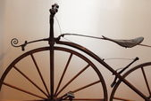 Old times bicycle — Stock Photo