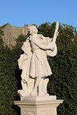 Baroque statue in Vienna — Stock Photo