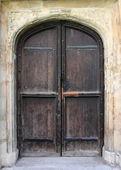 Porta medieval — Fotografia Stock