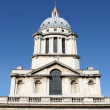 Clock tower of Royal Naval College — Stock Photo #8588723