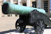 Old bronze cannon — Stock Photo