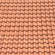 Red roof clay tiles - Foto de Stock