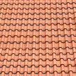 Red roof clay tiles - Lizenzfreies Foto