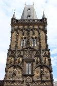 Torre delle polveri, praga — Foto Stock