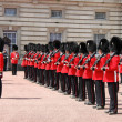 Stock Photo: Guard change in Buckingham Palace