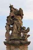 St. Ludmila statue — Stockfoto