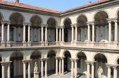 Cloister of Brera Palace — Stock Photo