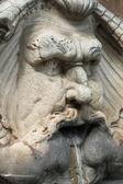 Renesanční mramorové fontány — Stock fotografie