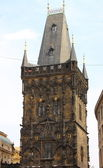 Powder tower, Prague — Stock Photo