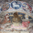 Christian fresco — Stock Photo