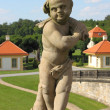 Statue of a child — Stock Photo
