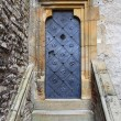 Stock Photo: Medieval front door in Prague