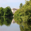Buckingham Palace from St James Park — Stock Photo