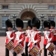 Guard change in Buckingham Palace — Foto Stock