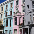 Stock Photo: Notting Hill houses