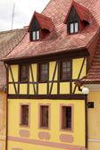 Casa enmaderada tradicional — Foto de Stock