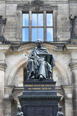 Friedrich August statue — Stock Photo