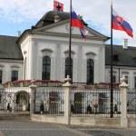 Presidential Palace of Slovakia, Bratislava — Stock Photo #9259267