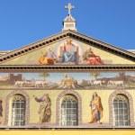 Basilica of Saint Paul outside the walls — Stock Photo #9270004