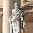 Statue of Saint Paul the Apostle — Foto de Stock