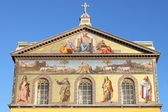 Basilica of Saint Paul outside the walls — Стоковое фото