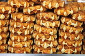 Fresh waffles — Stock Photo